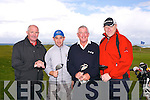 Dermot Finnan, James Kennelly, Jim McNamara, Enda Quade at the Pat Mulcare Am Am at Tralee Golf Club, Barrow on Sunday