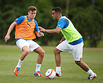 Lewis Macleod and Darren Cole