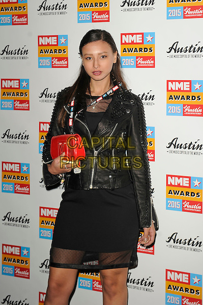 LONDON, ENGLAND - FEBRUARY 18: Leah Weller attending the NME Awards at Brixton Academy on February 18 2015 in London, England.<br /> CAP/MAR<br /> &copy; Martin Harris/Capital Pictures