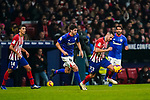 Victor Machin, Vitolo, of Atletico de Madrid (R) is followed by Mikel San Jose Dominguez of Athletic de Bilbao during the La Liga 2018-19 match between Atletico de Madrid and Athletic de Bilbao at Wanda Metropolitano, on November 10 2018 in Madrid, Spain. Photo by Diego Gouto / Power Sport Images