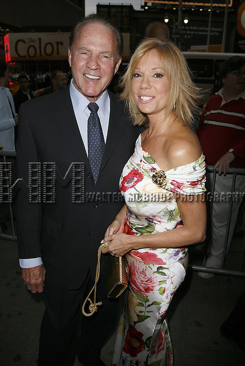 Frank & Kathie Lee Gifford attending the Opening Night of Warner Bros. Theatre Ventures' Inaugural production of LESTAT at the Palace Theatre with an after party at Time Warner Center in New York City. April 25, 2006.© Walter McBride/WM Photography