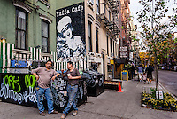 New York, NY 6 November 2015 - Yaffa Cafe on Saint Mark's Place in the East Village ©Stacy Walsh Rosenstock/Alamy