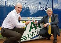 14-7-08, Amersfoort, Tennis, Dutch Open, Nieuw contract AA Drink