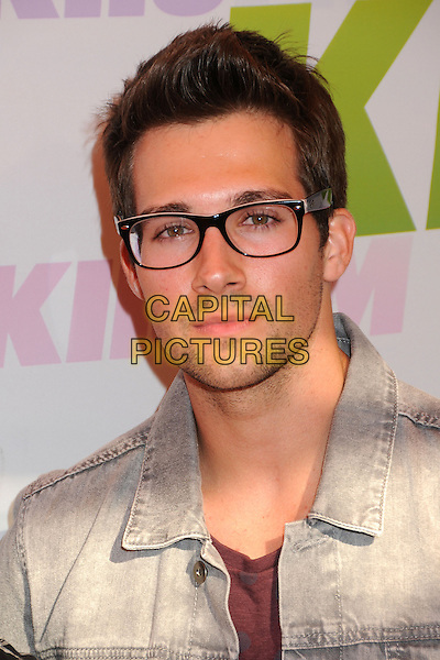 James Maslow, Big Time Rush.at KIIS FM's Wango Tango 2013 held at The Home Depot Center, Carson, California, USA, 11th May 2013..arrivals portrait headshot glasses .CAP/ADM/BP.©Byron Purvis/AdMedia/Capital Pictures