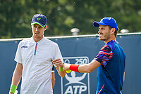Rosmalen, Netherlands, 11 June, 2019, Tennis, Libema Open, Mens double: Wesley Koolhof (NED) and Marcus Daniell (NZL) (L)<br /> Photo: Henk Koster/tennisimages.com