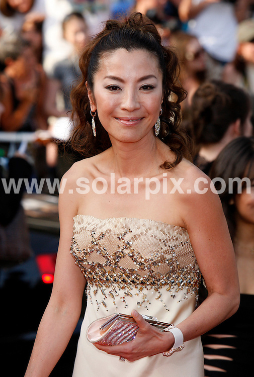 **ALL ROUND PICTURES FROM SOLARPIX.COM**.**SYNDICATION RIGHTS FOR UK AND SPAIN ONLY**.Arrivals at the premiere of Inglourious Basterds at the 62nd Cannes Film Festival in Cannes, France. .This pic:  Michelle Yeoh.JOB REF:      9067    CPR/Heinz        DATE:  21.05.09.**MUST CREDIT SOLARPIX.COM OR DOUBLE FEE WILL BE CHARGED**.**ONLINE USAGE FEE GBP 50.00 PER PICTURE - NOTIFICATION OF USAGE TO PHOTO @ SOLARPIX.COM**.**CALL SOLARPIX : +34 952 811 768 or LOW RATE FROM UK 0844 617 7637**