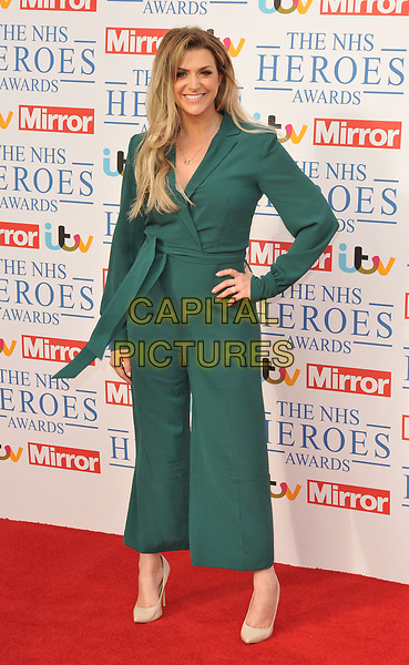 Anna Williamson at the NHS Heroes Awards 2018, London Hilton on Park Lane Hotel, Park Lane, London, England, UK, on Monday 14 May 2018.<br /> CAP/CAN<br /> &copy;CAN/Capital Pictures
