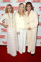 """LOS ANGELES - JAN 18:  Donna Mills, Joan Van Ark, Michele Lee at the 40th Anniversary of """"Knots Landing"""" Exhibit at the Hollywood Museum on January 18, 2020 in Los Angeles, CA"""