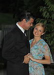 Guiding Light's Mandy Bruno and As The World Turns' Burke Moses star in the Sound of Music as Maria and Captain von Trapp in a national tour now at Wolf Trap National Park for the Performing Arts in Vienna, Virginia on September 1, 2010. (Photo by Sue Coflin/Max Photos)
