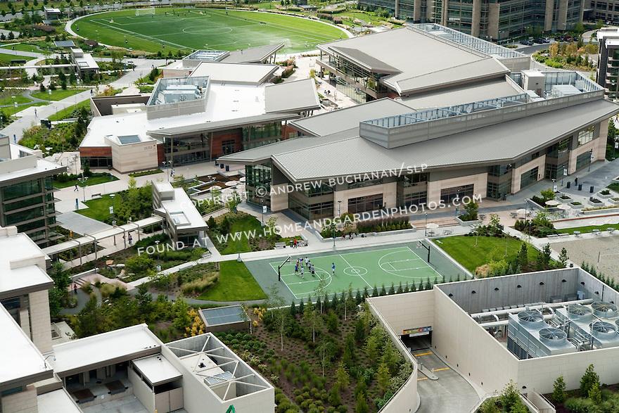 Microsoft West Campus aerials; June 29, 2010