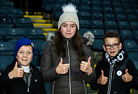 Blackburn Rovers' supporters enjoying the pre-match atmosphere <br /> <br /> Photographer Andrew Kearns/CameraSport<br /> <br /> The EFL Sky Bet Championship - Blackburn Rovers v Nottingham Forest - Tuesday 1st October 2019  - Ewood Park - Blackburn<br /> <br /> World Copyright © 2019 CameraSport. All rights reserved. 43 Linden Ave. Countesthorpe. Leicester. England. LE8 5PG - Tel: +44 (0) 116 277 4147 - admin@camerasport.com - www.camerasport.com
