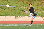 Torrance, CA 01/24/12 - Jun Tankai (Peninsula #2) in action during the Peninsula vs West Torrance CIF Bay league game.