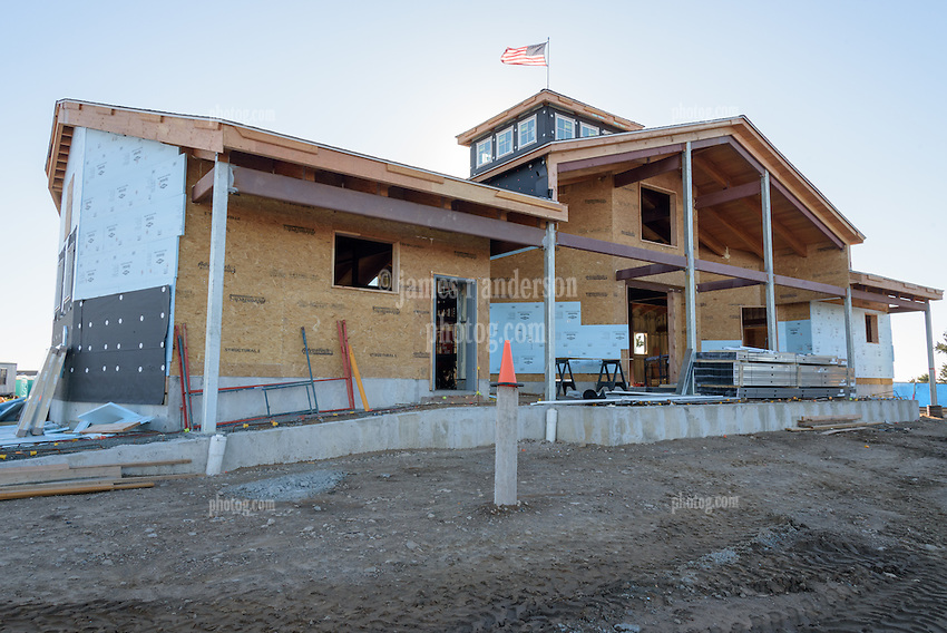 Meigs Point Nature Center at Hammonasset Beach State Park  <br /> Connecticut State Project No: BI-T-601<br /> Architect: Northeast Collaborative Architects  Contractor: Secondino &amp; Son<br /> James R Anderson Photography New Haven CT photog.com<br /> Date of Photograph: 20 November 2015<br /> Camera View: 09