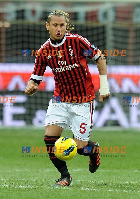 "Philippe MEXES (Milan).Milano 17/12/2011 Stadio ""Giuseppe Meazza"".Serie A 2011/2012.Football Calcio Milan Vs Siene.Foto Insidefoto Alessandro Sabattini."