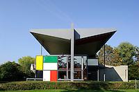 Centre Le Corbusier ( Hedi Weber Haus von 1967) am Zürichhorn, Zürich, Schweiz