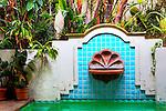 Spanish Fountain, Newport Beach, CA.