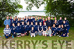 The Flesk Valley team at the Killarney Regatta in Killarney Golf and Fishing club on Monday