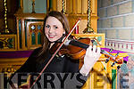 Caoimhe Doyle who competed in the Killarney Rotary club Young Musician of the Year in the Friary Killarney on Saturday night