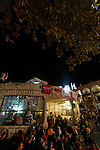 Israel, Galilee, Christmas at Mary's Square in Nazareth