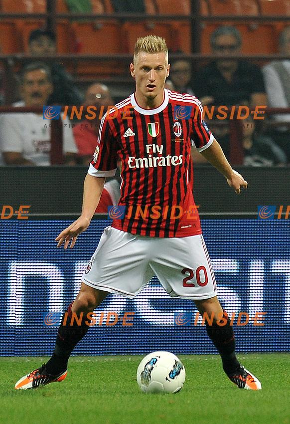 "Ignazio ABATE (Milan).Milano 24/9/2011 Stadio ""Giuseppe Meazza"".Serie A 2011/2012.Football Calcio Milan Vs Cesena.Foto Insidefoto Alessandro Sabattini."