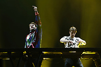 SÃO PAULO,SP, 25.03.2017 - LOLLAPALOOZA-SP - The Chainsmokers durante apresentação no primeiro dia do festival Lollapalooza no autódromo de Interlagos, neste sábado, 25. (Foto: Adriana Spaca/Brazil Photo Press)