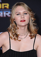 10 October  2017 - Hollywood, California - Ryan Simpkins. World Premiere of &quot;Thor: Ragnarok&quot; held at The El Capitan Theater in Hollywood. <br /> CAP/ADM/BT<br /> &copy;BT/ADM/Capital Pictures