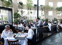 Cafe Torino, Leopoldo Rigoletti's restaurant in Santa Fe, mexico City.