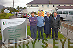 Concern over the pending cuts to the Ambulance service Cahersiveen which services an area from The Black Shop in Castlecove to Glenbeigh, pictured here l-r; Dr Derry Gibson, Dr Kieran O'Shea, Dr John Shanahan & Dr Brian Donovan.