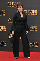 Ruthie Henshall at the Olivier Awards 2019, Royal Albert Hall, Kensington Gore, London, England, UK, on Sunday 07th April 2019.<br /> CAP/CAN<br /> ©CAN/Capital Pictures
