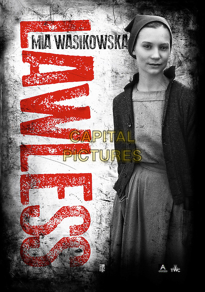 POSTER ART with MIA WASIKOWSKA.in Lawless (2012) .*Filmstill - Editorial Use Only*.CAP/FB.Supplied by Capital Pictures.