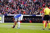 2nd December 2017, Wanda Metropolitano, Madrid, Spain; La Liga football, Atletico Madrid versus Real Sociedad; Willian Jose (12) of Real Sociedad  celebrates the (0,1) after scoring his team´s goal