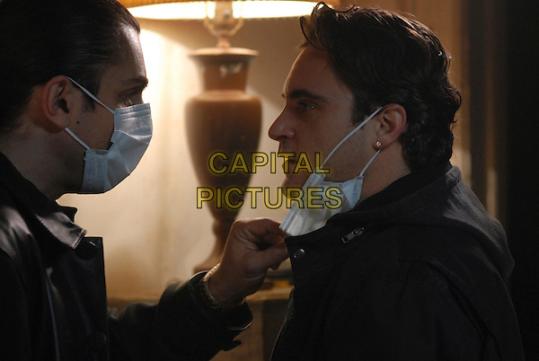ALEX VEADOV & JOAQUIN PHOENIX.in We Own the Night .**Editorial Use Only**.CAP/FB.Supplied by Capital Pictures