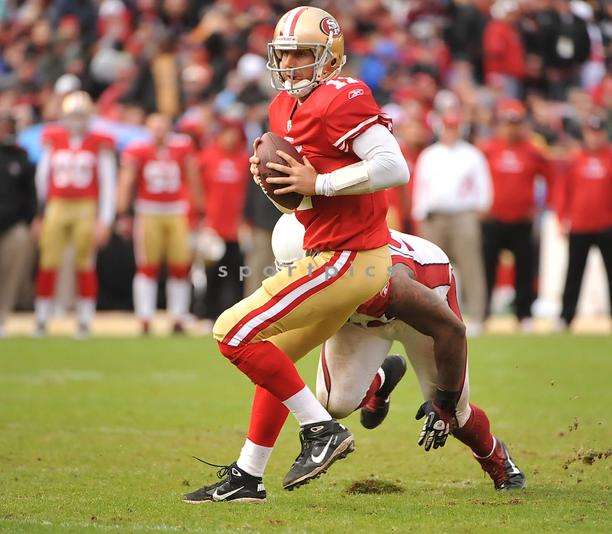 ALEX SMITH, of the San Francisco 49ers, in action during the 49ers game against the Arizona Cardinals on November 20, 2011 at Candlestick Park in San Francisco, CA. San Francisco beat Arizona 23-7.