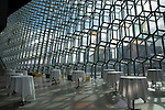 Inside Harpa opera house