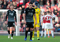 Burnley's Ashley Westwood cuts a dejected figure at the final whistle<br /> <br /> Photographer David Shipman/CameraSport<br /> <br /> The Premier League - Arsenal v Burnley - Saturday 22nd December 2018 - The Emirates - London<br /> <br /> World Copyright © 2018 CameraSport. All rights reserved. 43 Linden Ave. Countesthorpe. Leicester. England. LE8 5PG - Tel: +44 (0) 116 277 4147 - admin@camerasport.com - www.camerasport.com