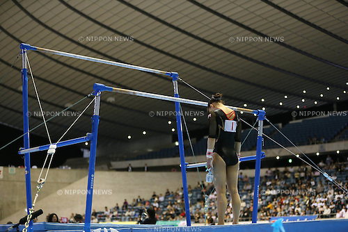 Rie Tanaka (JPN), .MAY 4, 2012 - Artistic Gymnastics : .The 51st NHK Cup .Women's Individual All-Around Competition .Uneven Bars .at Yoyogi 1st Gymnasium, Tokyo, Japan. .(Photo by YUTAKA/AFLO SPORT) [1040]
