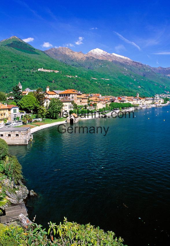 ITA, Italien, Piemont, Lago Maggiore, Canobbio: beliebter Ferienort nahe der schweiz./ital. Grenze | ITA, Italy, Piedmont, Lago Maggiore, Canobbio: famous resort close to the swiss/italian border