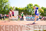 Aoife O'Carroll (Marion Park Manor) winner of the girls under 16 100m  at the Kerry Community Games finals at Castleisland on Sunday.