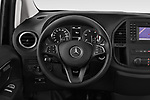 Car pictures of steering wheel view of a 2018 Mercedes Benz Vito Mixto Perfect Tool 4 Door Combi