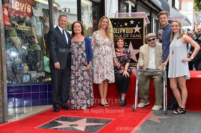 Gary Sinise &amp; Family at the Hollywood Walk of Fame star ceremony honoring actor Gary Sinise. Los Angeles, USA 17 April  2017<br /> Picture: Paul Smith/Featureflash/SilverHub 0208 004 5359 sales@silverhubmedia.com