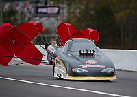 Mar 16, 2019; Gainesville, FL, USA; NHRA top alcohol funny car driver Dan Pomponio Jr during qualifying for the Gatornationals at Gainesville Raceway. Mandatory Credit: Mark J. Rebilas-USA TODAY Sports