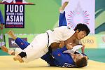 Masashi Nishiyama (JPN), .April 21, 2013 - Judo : .Asian Judo Championships 2013, Men's Team Competition Semifinal .at Bangkok Youth Centre, Bangkok, Thailand. .(Photo by Daiju Kitamura/AFLO SPORT) [1045]