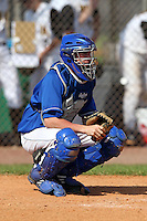 Dom Auriemma #41 of the Seton Hall Pirates during a game vs the Iowa Hawkeyes at the Big East-Big Ten Challenge at Walter Fuller Complex in St. Petersburg, Florida;  February 20, 2011.  Seton Hall defeated Iowa 2-0.  Photo By Mike Janes/Four Seam Images