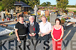 Rathass committee officers pictured at Rath Graveyard on Tuesday evening. From left, Edel Lawlor (joint treasurer), Joe Locke (chairman), Denis OShea (secretary) and Kathleen Lawlor (joint treasurer)..