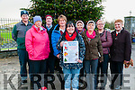 Fund Raising Festive Run : Pictured  to announce the fund raising festive 6K/10K  run/walk to be held in Ballylongford in aid of the Tidy Town's group on St. Stephens Day are David Doherty, Mag O'Sullivan, Hughie Dineen, Eilish Hanrahan, Cecelia Flavin, Helen Dineen, Noirin Lynch, Eileen & Kitty McEllistrim.