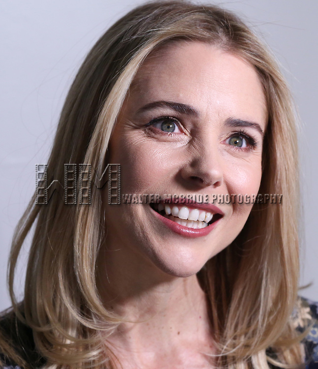Kerry Butler attends Broadway's 'Beetlejuice' - First Look Photo Call at Subculture  on February 28, 2019 in New York City.