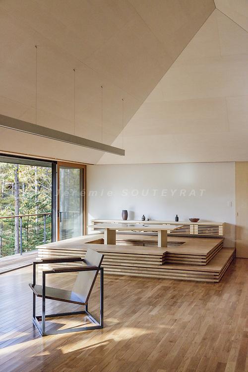 Karuizawa, Nagano prefecture, Japan, October 2016 - House in Karuizawa by MIKAN