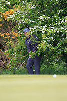 Andy Sullivan (ENG) in the rough on the 4th during Round 2 of the Betfred British Masters 2019 at Hillside Golf Club, Southport, Lancashire, England. 10/05/19<br /> <br /> Picture: Thos Caffrey / Golffile<br /> <br /> All photos usage must carry mandatory copyright credit (&copy; Golffile | Thos Caffrey)