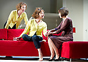 Passion Play by Peter Nichols, directed by David Leveaux. With Samantha Bond as Nell, Zoe Wanamaker as Eleanor,Annabel Scholey as Kate. Opens at The Duke of York's Theatre on 7/5/13. CREDIT Geraint Lewis