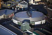 aerial photograph Staples Center Los Angeles, California